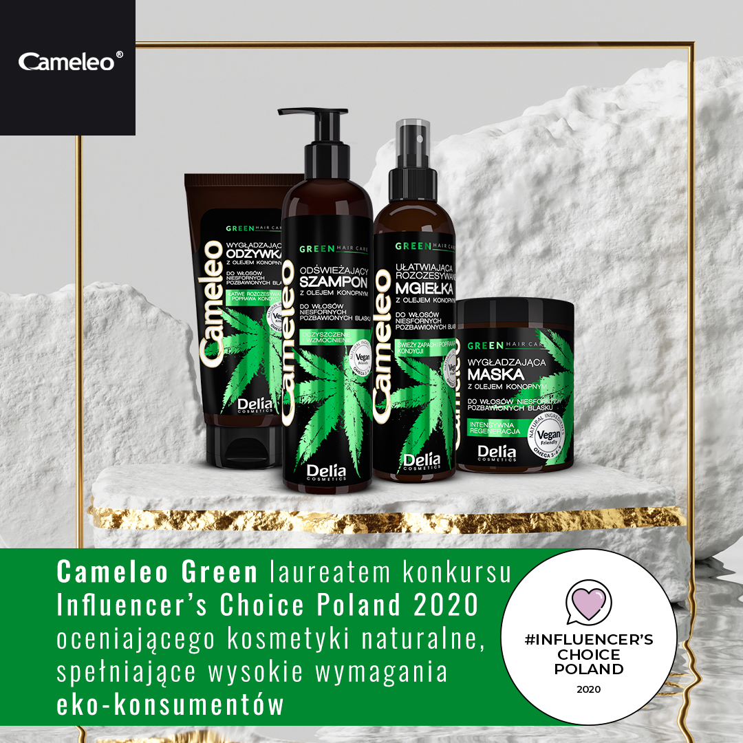 Influencers Choice dla Cameleo Green